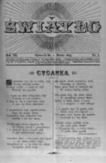 Światło. Pismo Ludowe Ilustrowane Poświęcone Nauce i Rozrywce. 1893 R.7 nr5