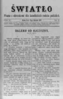 Światło. Pismo z Obrazkami dla Katolickich Rodzin Polskich. 1897 R.11 nr3