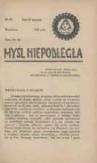 Myśl Niepodległa 1928 Nr901