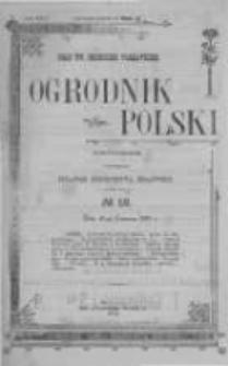 Ogrodnik Polski. 1902 R.24 nr12