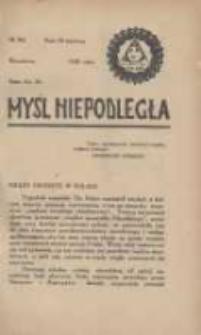 Myśl Niepodległa 1928 Nr902