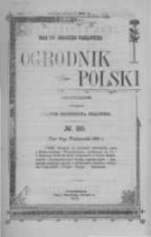 Ogrodnik Polski. 1902 R.24 nr20