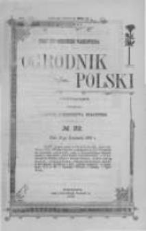 Ogrodnik Polski. 1902 R.24 nr22