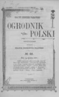 Ogrodnik Polski. 1902 R.24 nr23