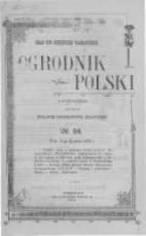 Ogrodnik Polski. 1902 R.24 nr24