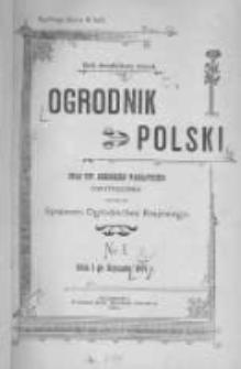 Ogrodnik Polski. 1901 R.23 nr1