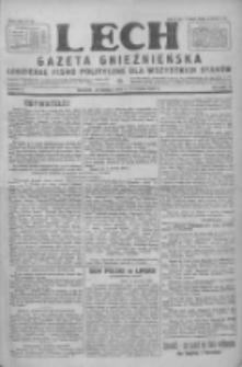 Lech. Gazeta Gnieźnieńska: codzienne pismo polityczne dla wszystkich stanów 1928.01.08 R.30 Nr6