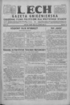 Lech. Gazeta Gnieźnieńska: codzienne pismo polityczne dla wszystkich stanów 1928.01.20 R.30 Nr16