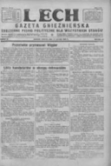 Lech. Gazeta Gnieźnieńska: codzienne pismo polityczne dla wszystkich stanów 1928.02.11 R.30 Nr34