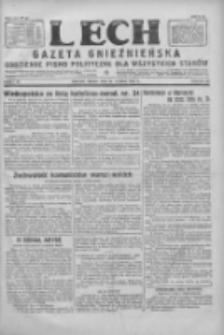 Lech. Gazeta Gnieźnieńska: codzienne pismo polityczne dla wszystkich stanów 1928.02.29 R.30 Nr49