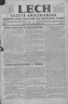 Lech. Gazeta Gnieźnieńska: codzienne pismo polityczne dla wszystkich stanów 1928.01.06 R.30 Nr5