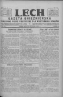 Lech.Gazeta Gnieźnieńska: codzienne pismo polityczne dla wszystkich stanów 1928.06.13 R.30 Nr134