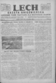 Lech.Gazeta Gnieźnieńska: codzienne pismo polityczne dla wszystkich stanów 1928.09.26 R.30 Nr222