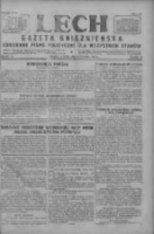 Lech. Gazeta Gnieźnieńska: codzienne pismo polityczne dla wszystkich stanów 1927.08.02 R.29 Nr174