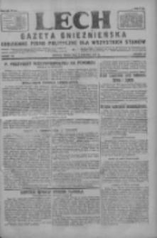 Lech.Gazeta Gnieźnieńska: codzienne pismo polityczne dla wszystkich stanów 1927.08.03 R.29 Nr175