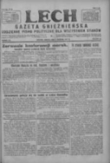 Lech.Gazeta Gnieźnieńska: codzienne pismo polityczne dla wszystkich stanów 1927.08.06 R.29 Nr178