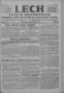 Lech.Gazeta Gnieźnieńska: codzienne pismo polityczne dla wszystkich stanów 1927.08.10 R.29 Nr181