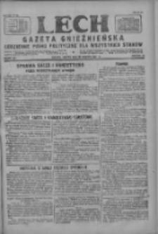 Lech.Gazeta Gnieźnieńska: codzienne pismo polityczne dla wszystkich stanów 1927.08.13 R.29 Nr184