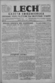 Lech.Gazeta Gnieźnieńska: codzienne pismo polityczne dla wszystkich stanów 1927.08.14 R.29 Nr185