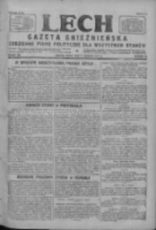 Lech.Gazeta Gnieźnieńska: codzienne pismo polityczne dla wszystkich stanów 1927.08.17 R.29 Nr186