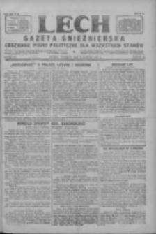 Lech.Gazeta Gnieźnieńska: codzienne pismo polityczne dla wszystkich stanów 1927.08.18 R.29 Nr187