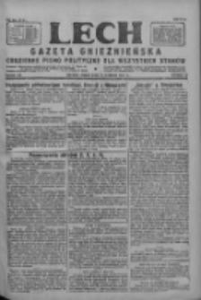 Lech.Gazeta Gnieźnieńska: codzienne pismo polityczne dla wszystkich stanów 1927.08.19 R.29 Nr188