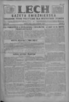 Lech.Gazeta Gnieźnieńska: codzienne pismo polityczne dla wszystkich stanów 1927.08.20 R.29 Nr189