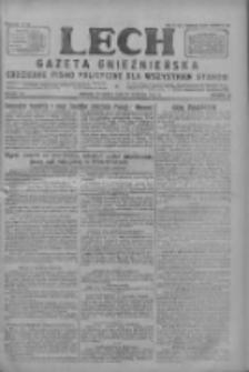 Lech.Gazeta Gnieźnieńska: codzienne pismo polityczne dla wszystkich stanów 1927.08.21 R.29 Nr190