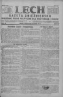 Lech.Gazeta Gnieźnieńska: codzienne pismo polityczne dla wszystkich stanów 1927.08.25 R.29 Nr193