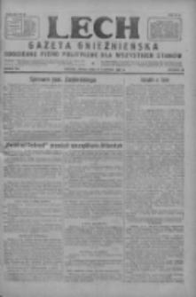Lech.Gazeta Gnieźnieńska: codzienne pismo polityczne dla wszystkich stanów 1927.08.31 R.29 Nr198