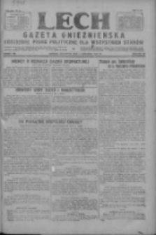 Lech.Gazeta Gnieźnieńska: codzienne pismo polityczne dla wszystkich stanów 1927.09.01 R.29 Nr199