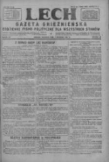 Lech.Gazeta Gnieźnieńska: codzienne pismo polityczne dla wszystkich stanów 1927.09.04 R.29 Nr202