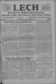 Lech.Gazeta Gnieźnieńska: codzienne pismo polityczne dla wszystkich stanów 1927.09.09 R.29 Nr206