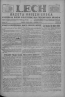 Lech.Gazeta Gnieźnieńska: codzienne pismo polityczne dla wszystkich stanów 1927.09.10 R.29 Nr207