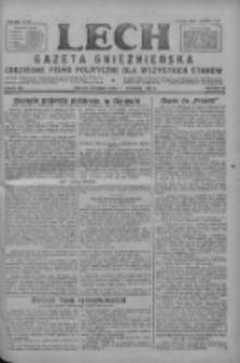 Lech.Gazeta Gnieźnieńska: codzienne pismo polityczne dla wszystkich stanów 1927.09.11 R.29 Nr208