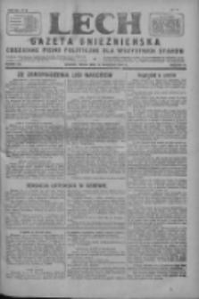 Lech.Gazeta Gnieźnieńska: codzienne pismo polityczne dla wszystkich stanów 1927.09.14 R.29 Nr210