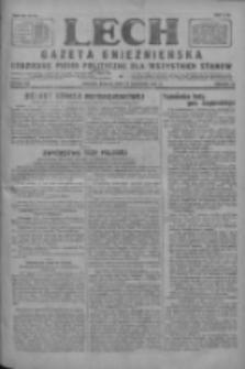 Lech.Gazeta Gnieźnieńska: codzienne pismo polityczne dla wszystkich stanów 1927.09.17 R.29 Nr213