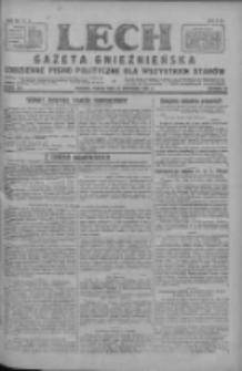 Lech.Gazeta Gnieźnieńska: codzienne pismo polityczne dla wszystkich stanów 1927.09.23 R.29 Nr218