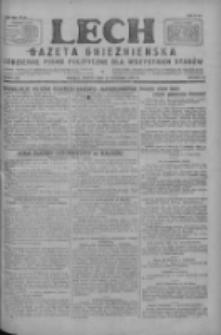 Lech.Gazeta Gnieźnieńska: codzienne pismo polityczne dla wszystkich stanów 1927.09.24 R.29 Nr219