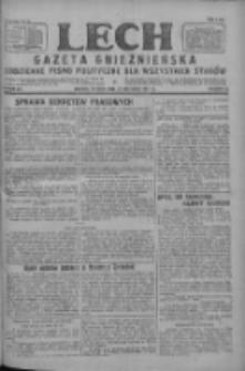 Lech.Gazeta Gnieźnieńska: codzienne pismo polityczne dla wszystkich stanów 1927.09.27 R.29 Nr221