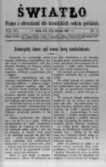 Światło. Pismo z Obrazkami dla Katolickich Rodzin Polskich. 1898 R.12 nr4