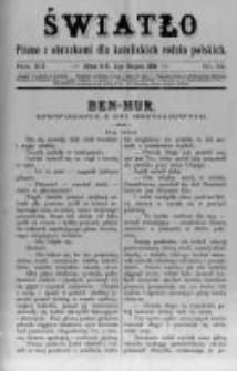Światło. Pismo z Obrazkami dla Katolickich Rodzin Polskich. 1898 R.12 nr32