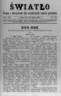 Światło. Pismo z Obrazkami dla Katolickich Rodzin Polskich. 1898 R.12 nr34