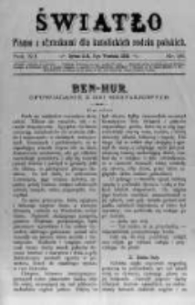 Światło. Pismo z Obrazkami dla Katolickich Rodzin Polskich. 1898 R.12 nr36