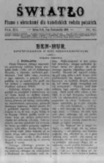 Światło. Pismo z Obrazkami dla Katolickich Rodzin Polskich. 1898 R.12 nr40