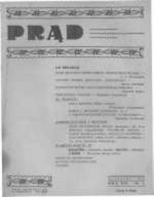 Prąd. Miesięcznik Poświęcony Zagadnieniom Religijnym, Narodowym i Społecznym. 1926 R.14 nr1