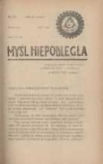Myśl Niepodległa 1928 Nr923