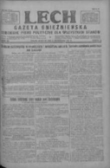 Lech.Gazeta Gnieźnieńska: codzienne pismo polityczne dla wszystkich stanów 1927.10.06 R.29 Nr229