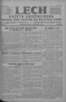 Lech.Gazeta Gnieźnieńska: codzienne pismo polityczne dla wszystkich stanów 1927.10.07 R.29 Nr230