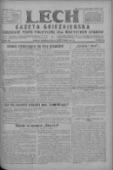 Lech.Gazeta Gnieźnieńska: codzienne pismo polityczne dla wszystkich stanów 1927.10.09 R.29 Nr232
